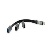 Conceptronic HUBBIES01G USBC a 2 USB 301 USB 20 Gr  Hub