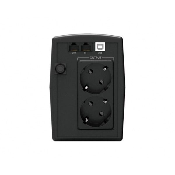 Conceptronic SAI ZEUS02ES 850VA USB Protección LAN  - SAI