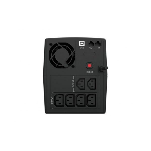 Conceptronic SAI ZEUS04E 2200V USB Proteccin LAN  SAI