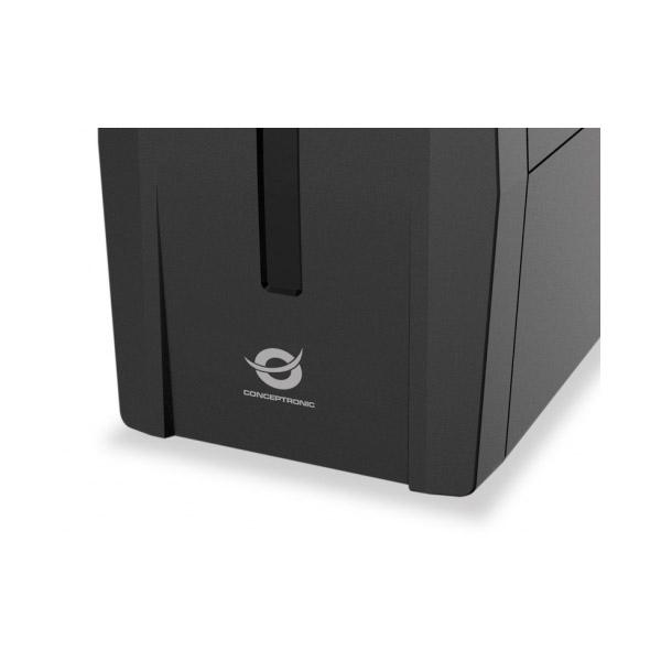 Conceptronic SAI ZEUS 02E 850VA USB Protección LAN - SAI