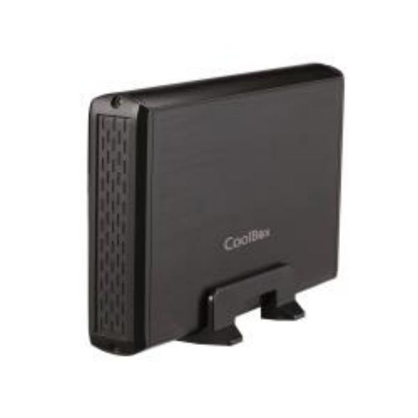 Coolbox 3531 caja 3.5″ USB3.0 negra – Caja HDD