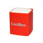 Coolbox Cube mini rojo Bluetooth – Altavoz