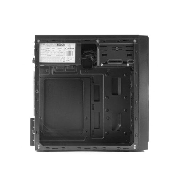 Coolbox M500 MATX 2XUSB 30 500W NEGRO  Caja