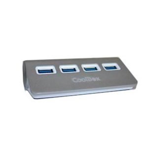 Coolbox hubalu 2 4 puertos USB20  Hub