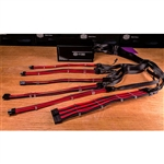 Cooler Master mod cable KIT rojo/negro - Extension cable F.A