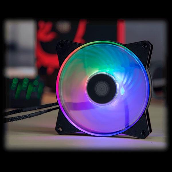 Coolermaster masterfan MF120R ARGB - Ventilador