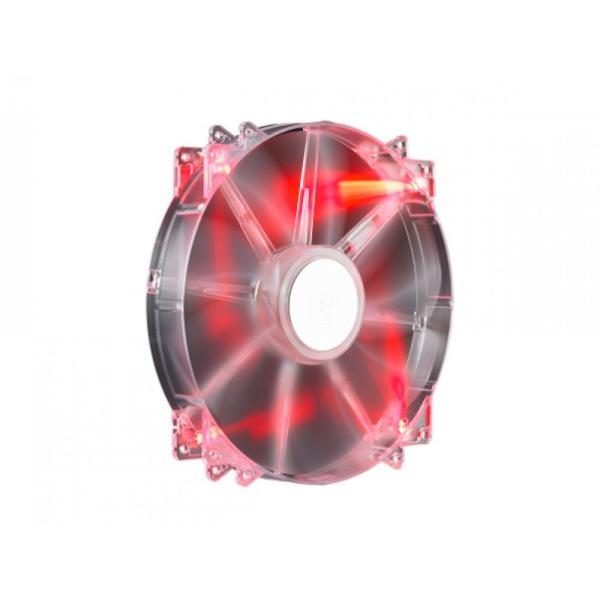 Cooler Master MegaFlow 20CM rojo  Ventilador