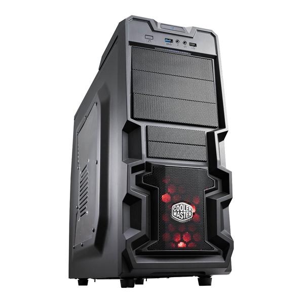 Cooler Master K380 con Ventana  Caja