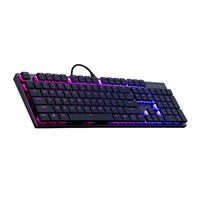 Cooler Master SK650 switch red - Teclado