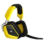 Corsair VOID PRO PremiumRGB wireless 7.1 yellow - Auricular