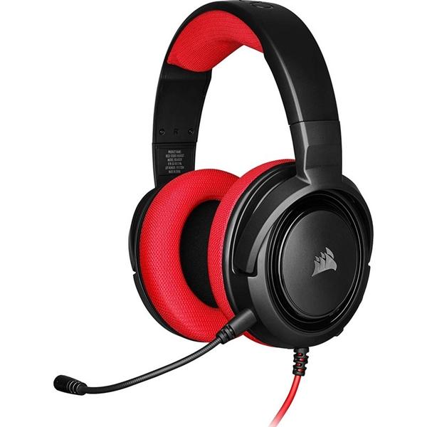 Corsair HS35 stereo rojo  Auriculares