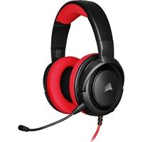 Corsair HS35 stereo rojo - Auriculares