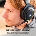 Corsair HS60 PRO amarillos 71  Auriculares