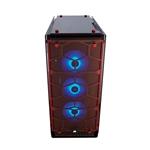 CAJA  ATX SEMITORRE CORSAIR CRYSTAL 570X RGB ROJA  CC901111