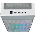 Corsair iCUE 220T RGB blanca  Caja