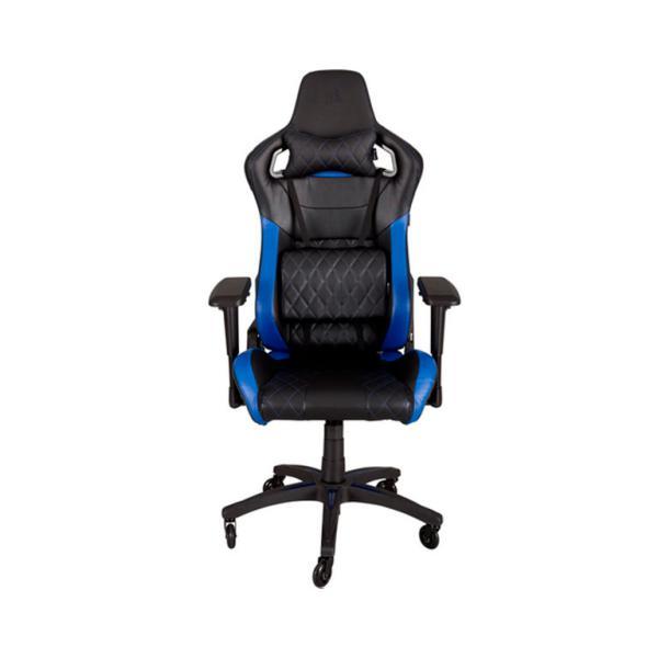 Corsair gaming T1 race negra  azul  Silla