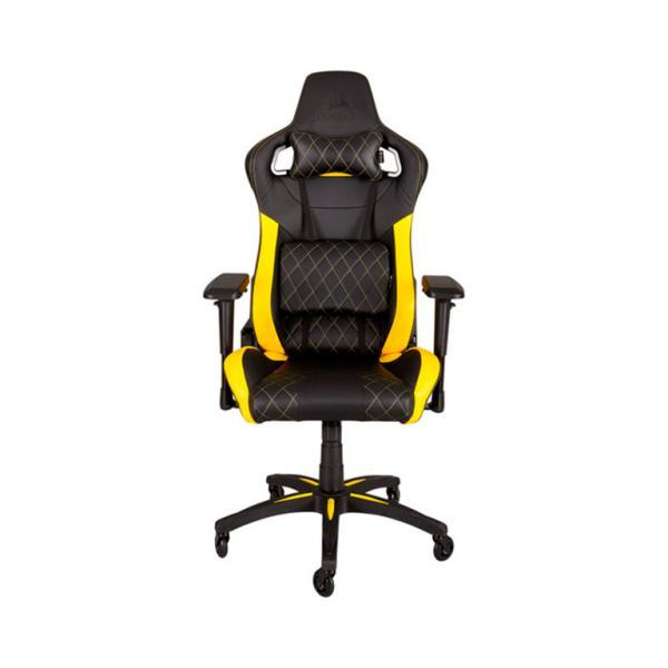 Corsair gaming T1 race negra  amarilla  Silla