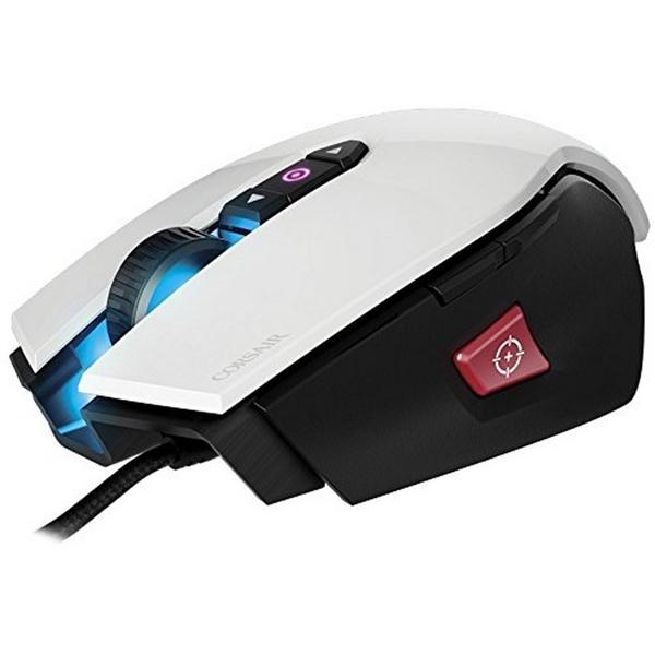 Corsair Gaming M65 PRO RGB 12000 DPI Blanco – Ratón