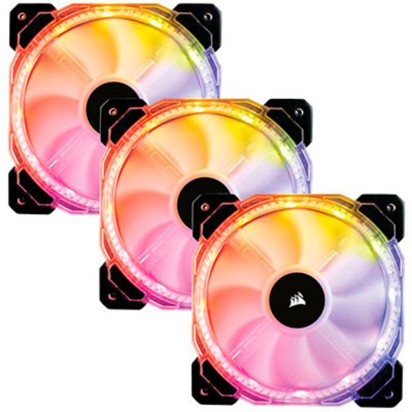 Corsair 120mm HD120 RGB LED pack 3 - Ventilador