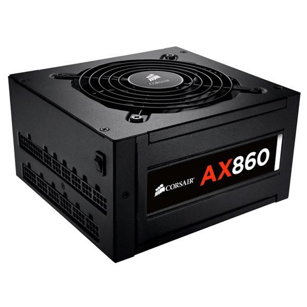 Corsair AX860 80+ Platinum full modular 860W  – Fuente