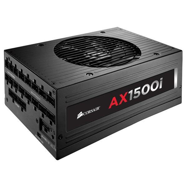 Corsair AX1500i 80+ Platinum full modular 1500W – Fuente