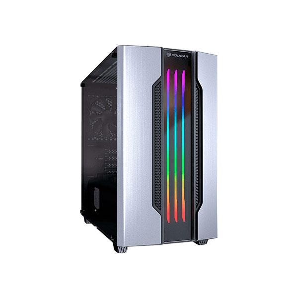 Cougar Gemini M RGB silver  Caja
