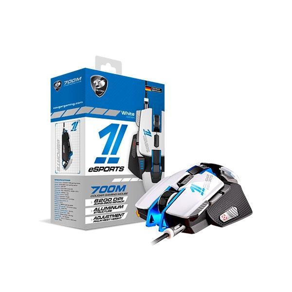 Cougar 700M esports edition blanco  azul  Ratón