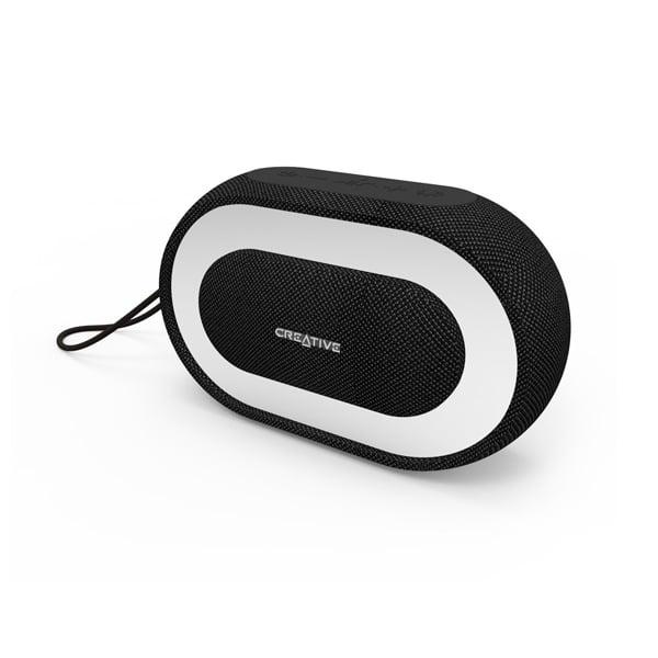 Creative HALO negro Bluetooth RGB - Altavoz