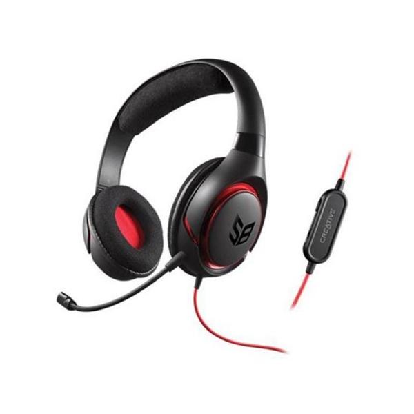 Creative SB Inferno Negro Compatible PS4  Auriculares