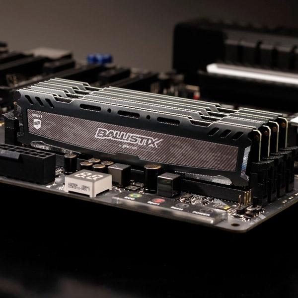 Crucial Ballistix DDR4 3200MHz 16GB CL16 DR – Memoria RAM