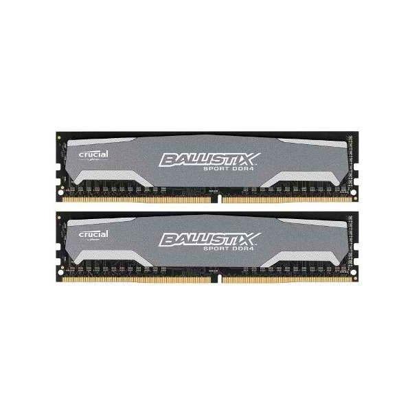 Crucial Ballistix Sport DDR4 2400 8GB x 2 DIMM - Memoria RAM