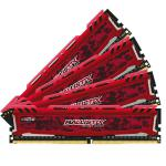 Crucial Ballistix Sport LT DDR4 2400 64GB(4x16G)CL16 - RAM