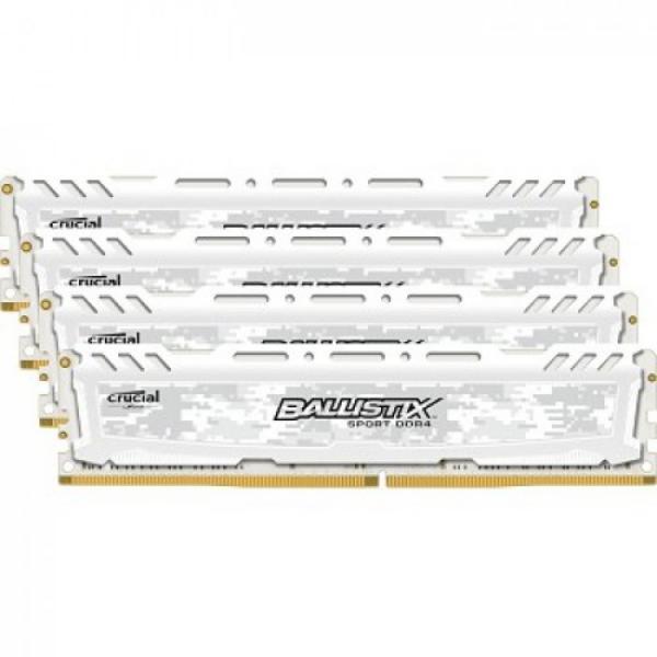 Crucial Ballistix Sport LT DDR4 2666MHz 64GB(4×16)C16 – RAM