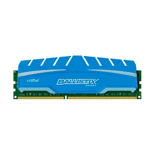 Crucial Ballistix Sport XT DDR3 1600 8GB DIMM – Memoria RAM