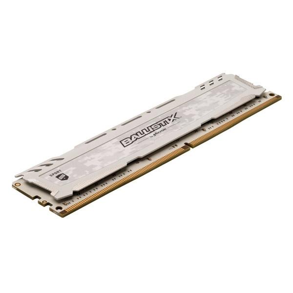 Crucial Ballistix Sport LT DDR4 3200MHz 8GB blanco  RAM