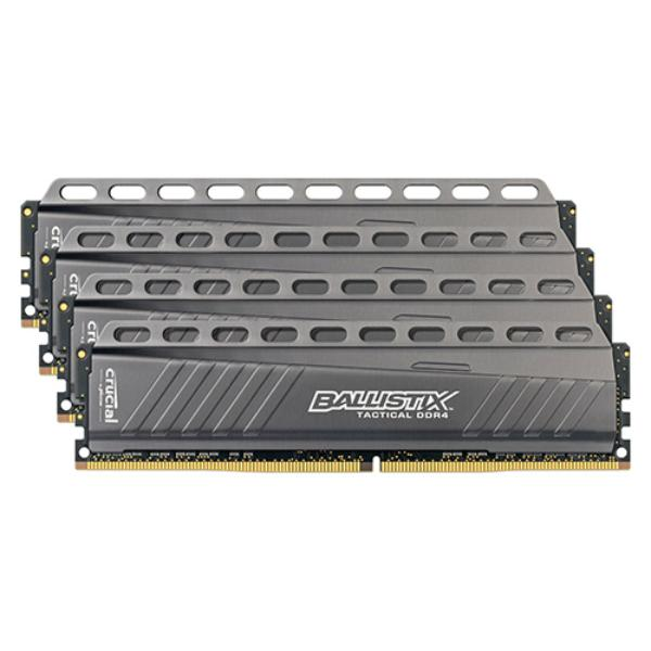 Crucial Ballistix Tactical DDR4 2666MHz 32GB(4×8) CL16 – RAM