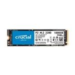 Crucial P2 1TB 3D NAND NVMe PCIe M2  SSD