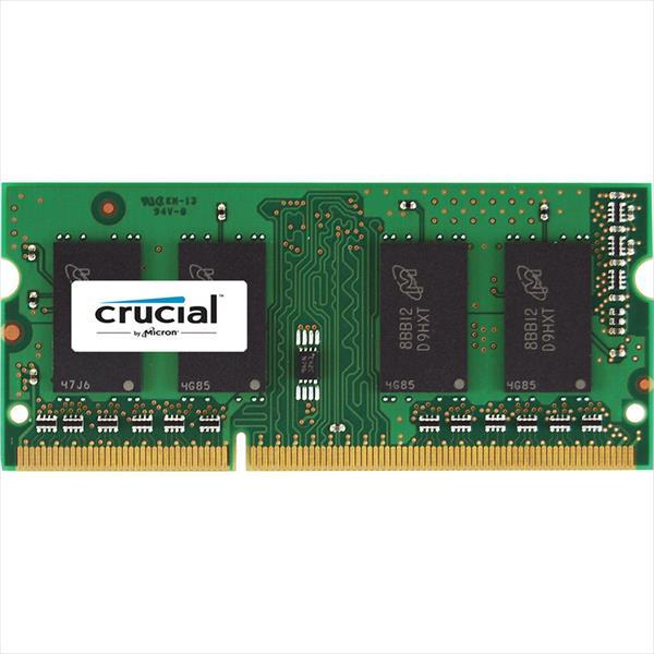 Crucial DDR3 8GB SODIMM ECC 2RX8 – Memoria RAM