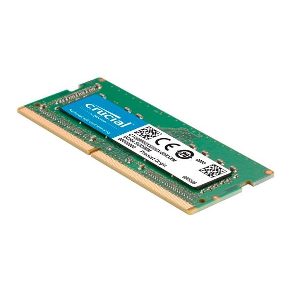 Crucial DDR4 2400MHz 16GB SODIMM para Mac  RAM