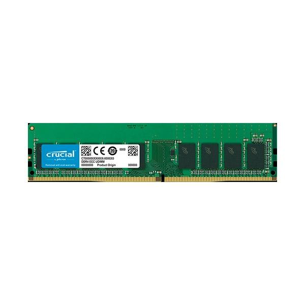 Crucial DDR4 2666MHz 16GB CL19 DR X8 ECC  Memoria RAM