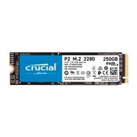 Crucial P2 250GB 3D NAND NVMe PCIe M.2 - SSD