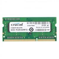 Crucial DDR3L 1600 2GB SO DIMM – Memoria RAM