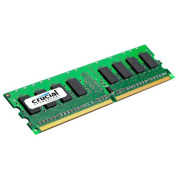 Crucial DDR2 800Mhz 2GB UDIMM ECC – Memoria RAM