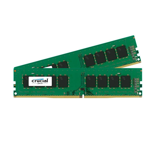 16GB KIT 8GBX2 DDR4 2400 MTSMEM PC419200 CL17