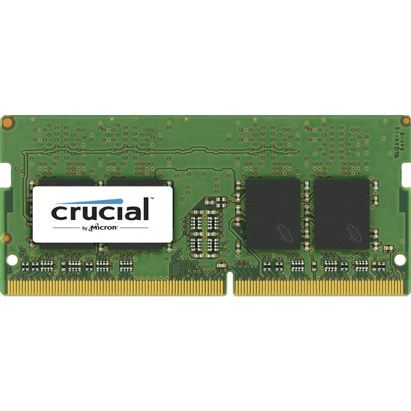 Crucial DDR4 2400MHz 4GB CL17 SR x8 SODIMM – Memoria RAM