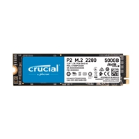 Crucial P2 500GB 3D NAND NVMe PCIe M.2 - SSD