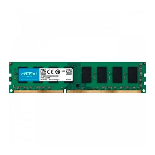 Crucial DDR3 1600Mhz 4GB DIMM 15V  Memoria RAM  Reacondicionado