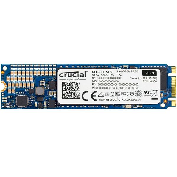 Crucial MX300 525GB M.2 SATA – Disco Duro SSD