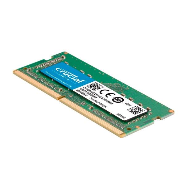 Crucial 8GB DDR4 2400 CL17 SODIMM para MAC  Memoria RAM