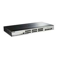 D-Link DGS-1510-28X 24 Puertos Gigabite + 4 SFP - Switch